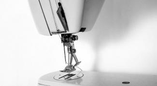 Как вдеть нитку в швейной  машинке