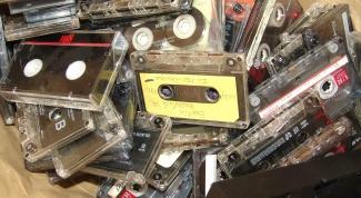 Как записать с кассеты
