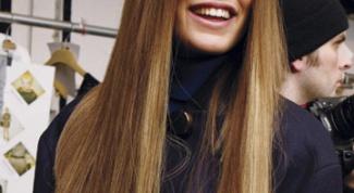 Как убрать объем с волос