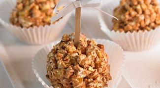 How to make caramel popcorn