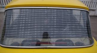 Как восстановить обогрев стекла