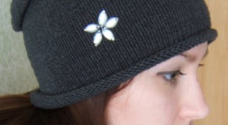 Как связать шапку-чулок