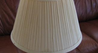 Как сделать абажур для настольной лампы