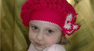 How to knit baby beret crochet