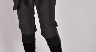 Как пришить пояс к брюкам