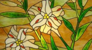 Как рисовать красками по стеклу