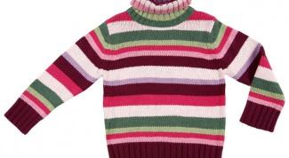 Как связать воротник на свитер
