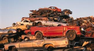 Как сдать машину на металлолом