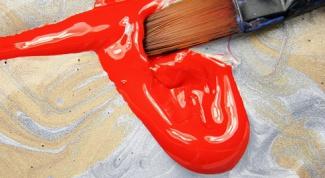 Как рисовать акриловыми красками на тканях