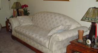 Как сшить накидку на диван