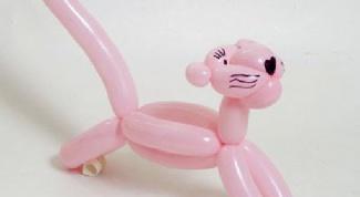Как сделать животного из шарика