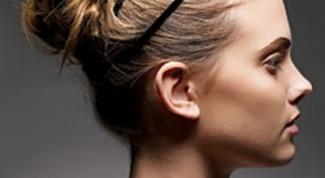 Как сделать красивый пучок из волос