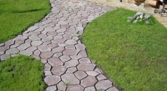 Как делать тротуарную плитку