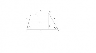 How to find the smaller base of the trapezoid