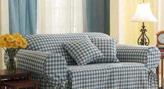 Как сделать чехлы на диван