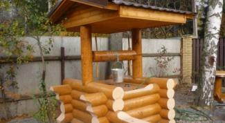 Как построить домик на колодец
