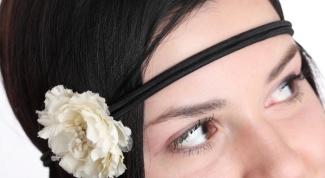 Как носить повязки на волосы