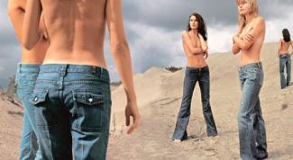 Как отличить мужские джинсы от женских