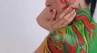 Как перевести рисунок на тело