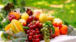 Как выбрать фрукты и овощи