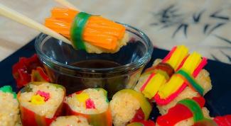 Как приготовить сладкие роллы