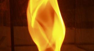 Как нарисовать огонь на бумаге