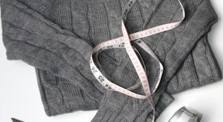 Как переделать свитер