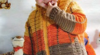 How to knit a sweater for the boy
