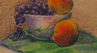 How to draw oil pastel
