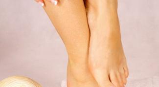 Как лечить кожу ног