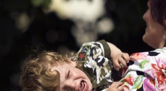 Как справиться с истериками ребенка