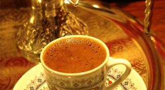 Как варить турецкий кофе