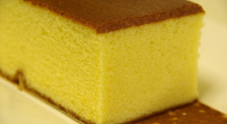 How to bake sponge cakes