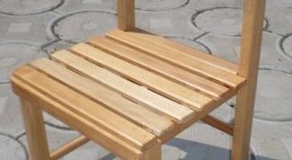 Как сделать стул детский