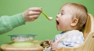 Как приготовить кашу малышу