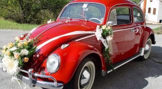 Как нарядить машины на свадьбу
