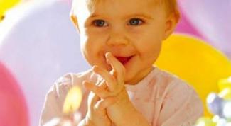 отметить первый день рождения малыша