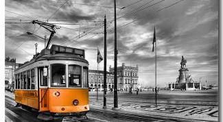 Как нарисовать трамвай