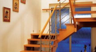 Как построить лестницу на даче