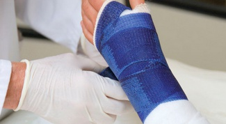 How to apply a splint at fracture