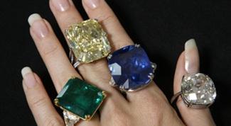 Как носить кольца