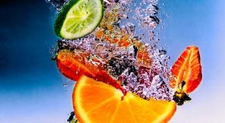Как мыть фрукты