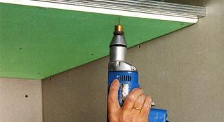 Как смонтировать потолок из гипсокартона