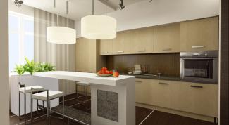 Как отделать стены кухни