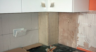 Как скрыть газовую трубу на кухне