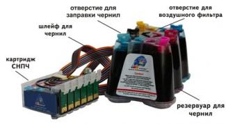 Как сделать систему непрерывной подачи чернил для принтера