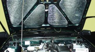 Как утеплить двигатель автомобиля