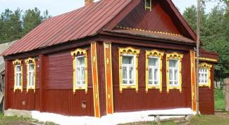 Как построить деревенский дом