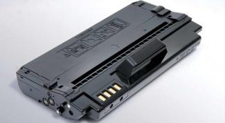 Как заправить картридж для принтера Samsung