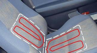 Как сделать подогрев сиденья